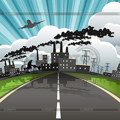 Industrial city | Stock Vector Graphics |ID 3131141
