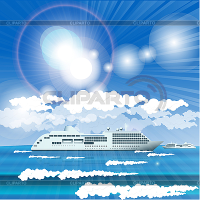 Cruise liner   Stock Vector Graphics  ID 3135212