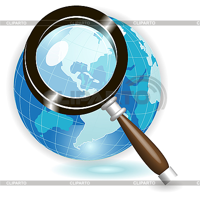 Magnifying glass | Stock Vector Graphics |ID 3135224