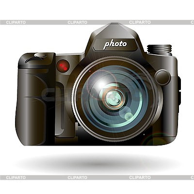 Photo camera | Stock Vector Graphics |ID 3137537
