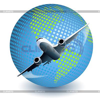 Airplane   Stock Vector Graphics  ID 3137563