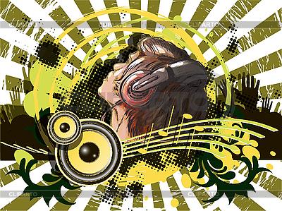 Musik-Poster | Stock Vektorgrafik |ID 3144565