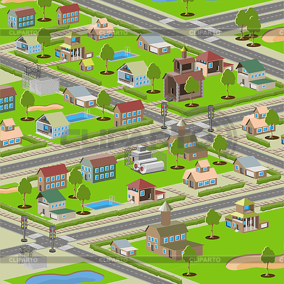 City | Stock Vector Graphics |ID 3155805