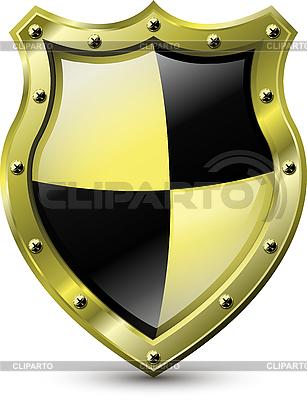 Goldener Schild | Stock Vektorgrafik |ID 3170904