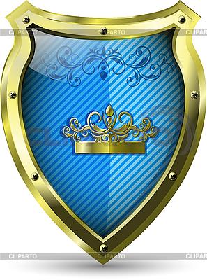 Blue Shield | Klipart wektorowy |ID 3173671