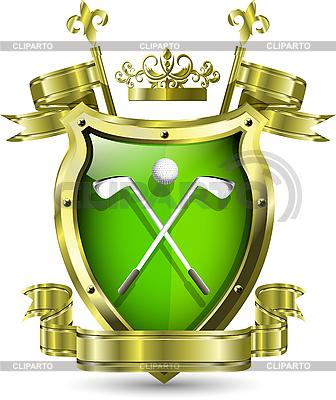 Emblem des Golf-Clubs | Stock Vektorgrafik |ID 3201428