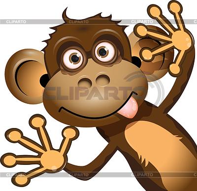 Funny monkey | Stock Vector Graphics |ID 3270700