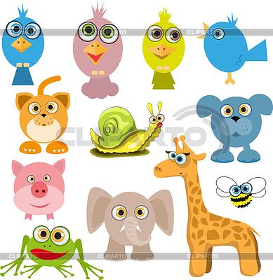 卡通动物 | 向量插图 |ID 3286508