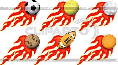 Sports balls | Stock Vector Graphics |ID 3304902