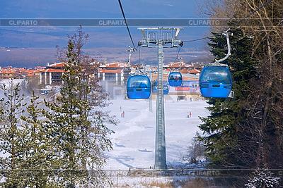 Luftseilbahn Skilift | Foto mit hoher Auflösung |ID 3098152