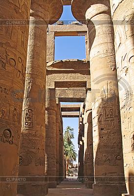Karnak Tempel in Luxor, Ägypten | Foto mit hoher Auflösung |ID 3098509