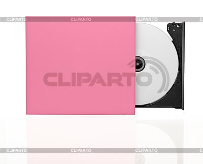 Portable Slim zewnętrzny CD / DVD | Foto stockowe wysokiej rozdzielczości |ID 3099028