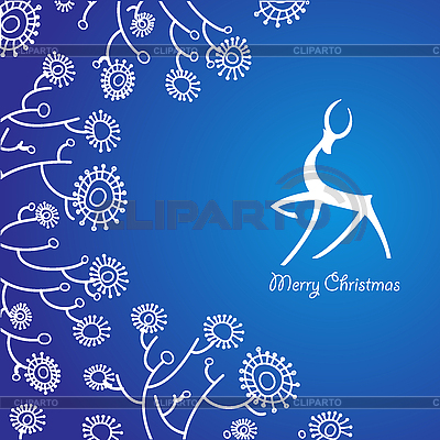 Christmas card | Stock Vector Graphics |ID 3099149