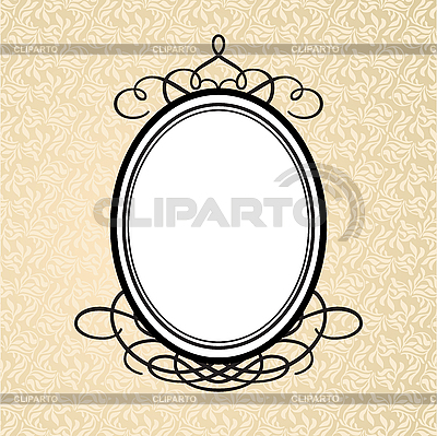 Oval frame | Stock Vector Graphics |ID 3099171
