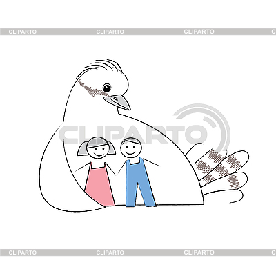 Sign care for children | Stock Vector Graphics |ID 3102202