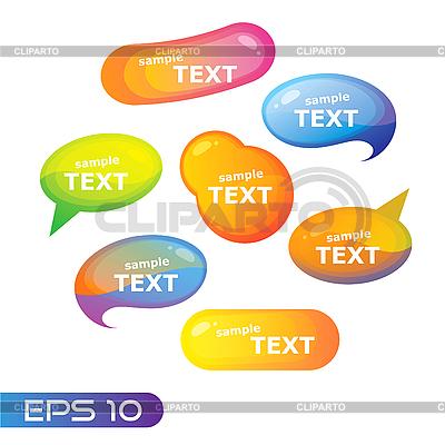 Speech bubble | Stock Vector Graphics |ID 3102241