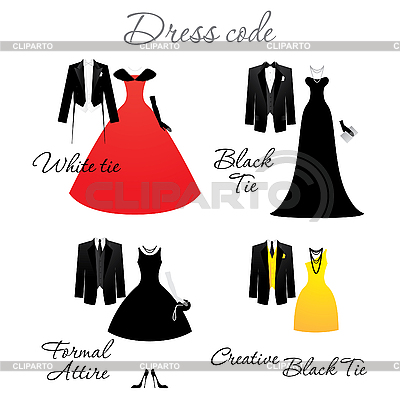 Dress code | Stock Vector Graphics |ID 3102310