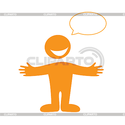 Human speaks | Stock Vector Graphics |ID 3102338