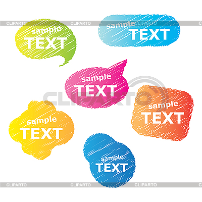 Speech bubbles | Stock Vector Graphics |ID 3102451