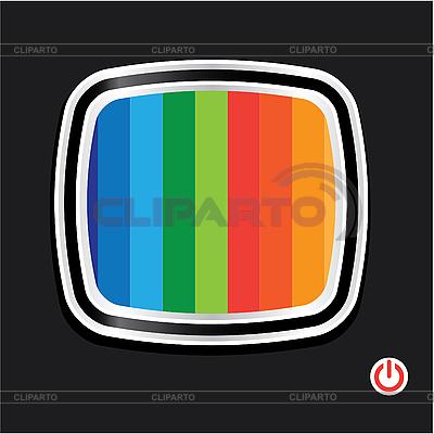 Tv-set | Stock Vector Graphics |ID 3102455
