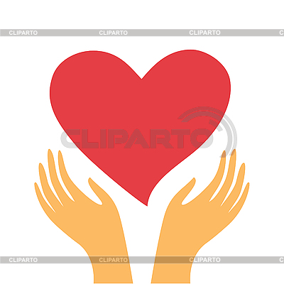 Heart in hands | Stock Vector Graphics |ID 3103355
