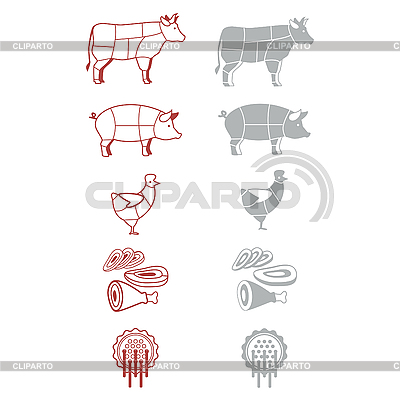 Meat | Stock Vector Graphics |ID 3103422