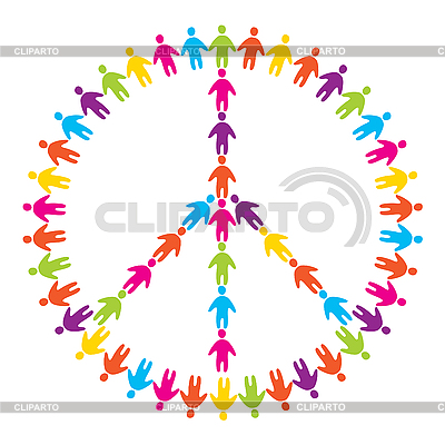 Sign of peace   Stock Vector Graphics  ID 3103510