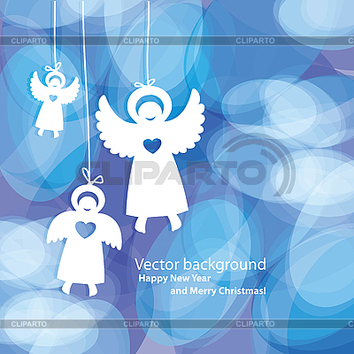 Background angels | Stock Vector Graphics |ID 3127246