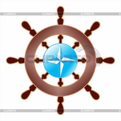 Steering-wheel with NATO logo | Stock Vector Graphics |ID 3100048