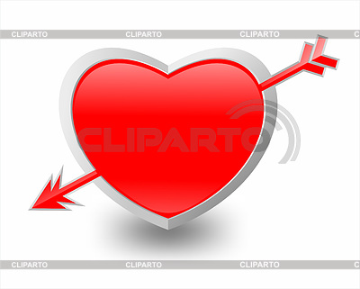 心和箭 | 高分辨率插图 |ID 3223693