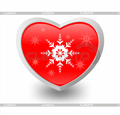Heart and snowflake   High resolution stock illustration  ID 3223702