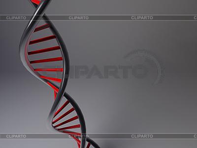 3D-модель ДНК   Иллюстрация большого размера  ID 3106432