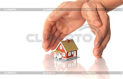 손과 작은 집 | 높은 해상도 사진 |ID 3107371