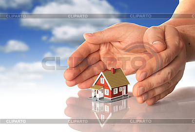 Hands and little house | High resolution stock photo |ID 3107387