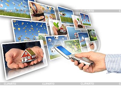 Pojęcie multimediów. | Foto stockowe wysokiej rozdzielczości |ID 3107405