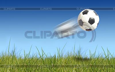 Football over grass | High resolution stock photo |ID 3108252