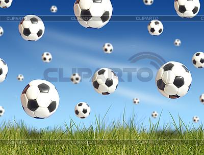 Footballs | High resolution stock photo |ID 3108253