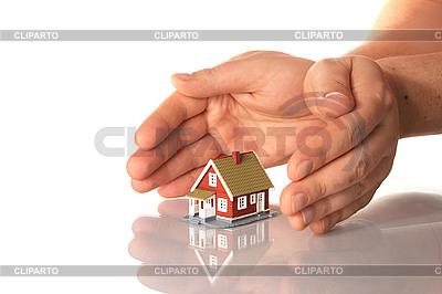 手和小房子 | 高分辨率照片 |ID 3108299