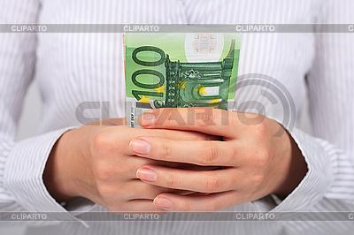 手にユーロお金で実業家 | 高解像度写真 |ID 3108331