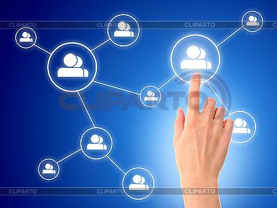 Soziale Netzwerke | Foto mit hoher Auflösung |ID 3108339