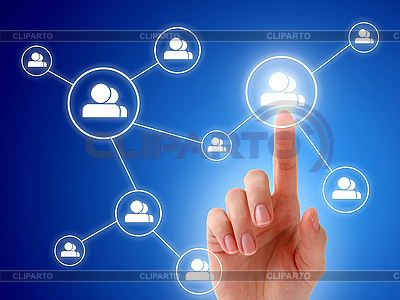 Social network concept   High resolution stock photo  ID 3108340