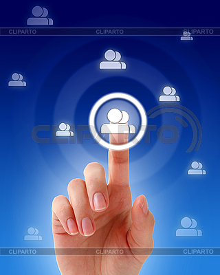 Social network concept   High resolution stock photo  ID 3108341