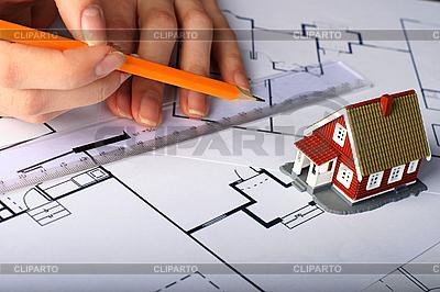 Budowa nowego domu | Foto stockowe wysokiej rozdzielczości |ID 3108374