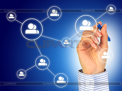 Social network concept. | High resolution stock photo |ID 3108393