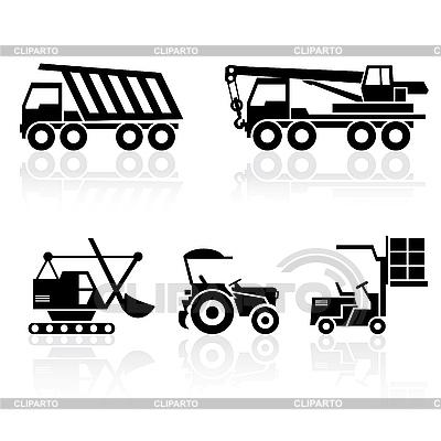 Pojazdy specjalne | Klipart wektorowy |ID 3108500