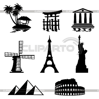 Travel icons | Stock Vector Graphics |ID 3108504