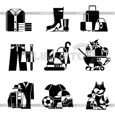 Supermarket icons | Stock Vector Graphics |ID 3108883