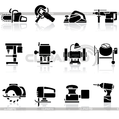 Tools icon set | Stock Vector Graphics |ID 3108885