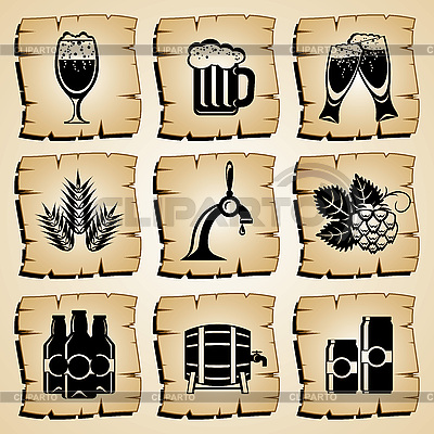 Lebensmittel-Icons | Stock Vektorgrafik |ID 3108922