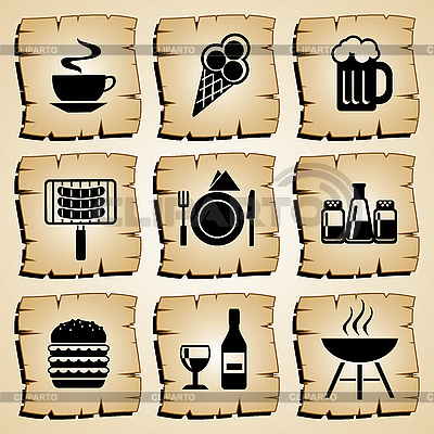 Icons food | Stock Vector Graphics |ID 3108924